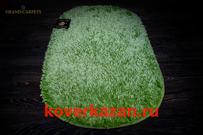 Bade teppiche 19419 oval lime 60x100