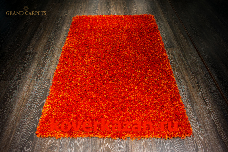 Indien Shaggi Assortet 19460 orange 120x180